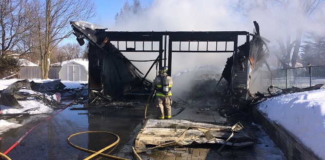 Two Classic Cars Destroyed In Blackstock Garage Fire Durham