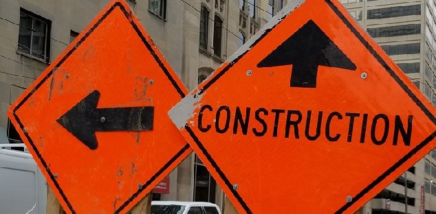 Construction to cause lane restrictions near Thickson and Rossland