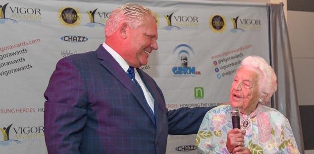 Doug Ford hires 97-year-old 'Hurricane' Hazel McCallion as municipal adviser
