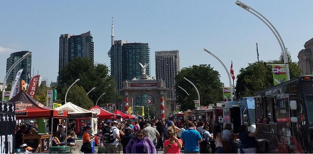 Arson suspected after bandshell fire at Toronto's CNE