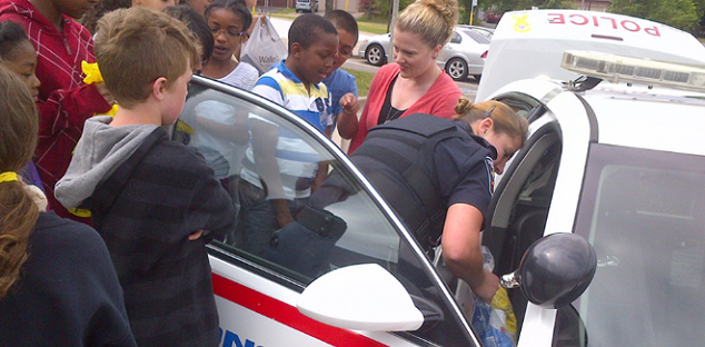 Help fill up the food bank with Cram-A-Cruiser school food drive