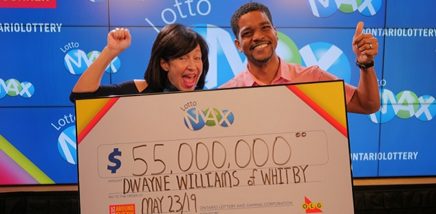 Whitby dad wins $55-million and plans to keep working