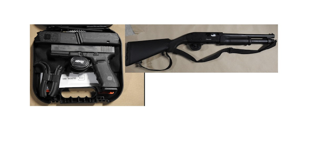 Three charged after DRPS find guns and drugs during searches in Ajax and Whitby