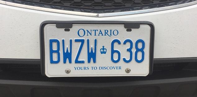 Pcs Planning To Change Ontario Licence Plates Durham Radio