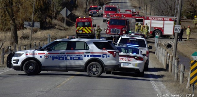 Pickering home leveled in possible explosion