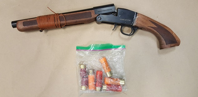 Shotgun seized from man's backpack in Pickering park: DRPS