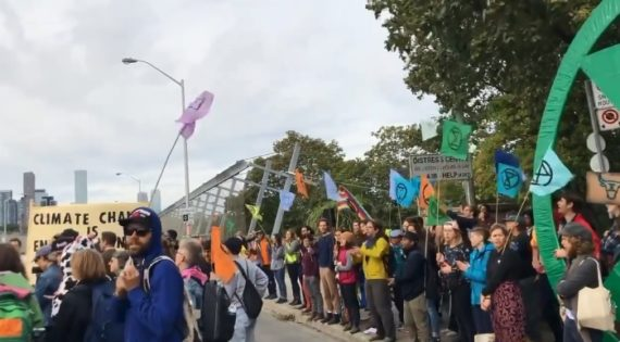 Charges dropped against climate protesters who blocked Bloor Viaduct - durhamradionews.com