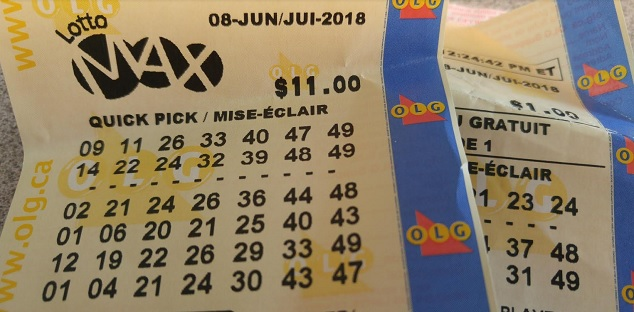 Lotto Max jackpot winner sold in Quebec