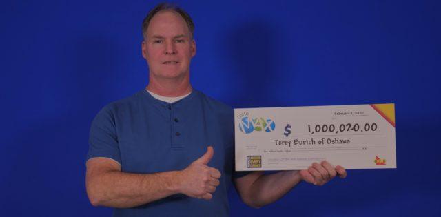 Oshawa dad $1-million richer after big lotto win