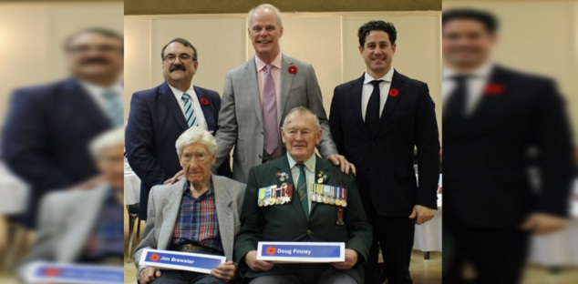 Veterans and war dead honoured with new street names in Oshawa